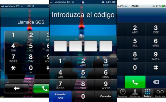 Photo of Aparece un fallo de seguridad en iOS 4.1 que permite llamar con el código de bloqueo activado