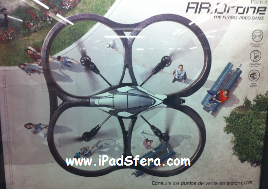 Photo of Anuncian el Helicóptero AR Drone en el Metro de Madrid