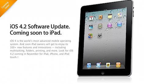 Photo of El próximo domingo 7 de noviembre tendremos el nuevo iOS 4.2