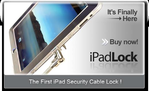 Photo of iPadLock: El Dock más seguro para el iPad
