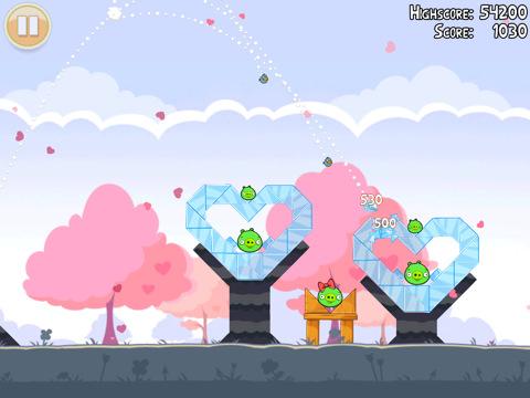 Photo of ¡Angry Birds Seasons HD se actualiza por San Valentín!