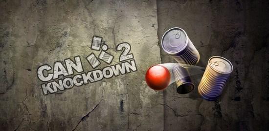 Derriba todos los objetivos con Can Knockdown 2 para iPad y iPhone