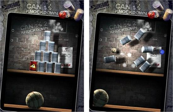 infini1 Copiar Derriba todos los objetivos con Can Knockdown 2 para iPad y iPhone