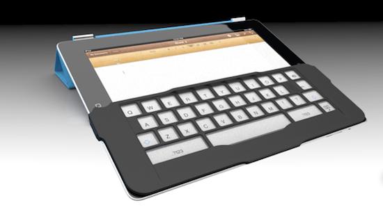 Photo of iKeyboard: Un teclado físico para la pantalla del iPad 2