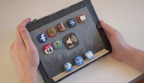 Crean un iPad de plastilina y le dan vida gracias a la tecnica del stop-motion