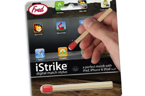 Photo of iStrike: Stylus para iPad y iPhone con forma de cerilla