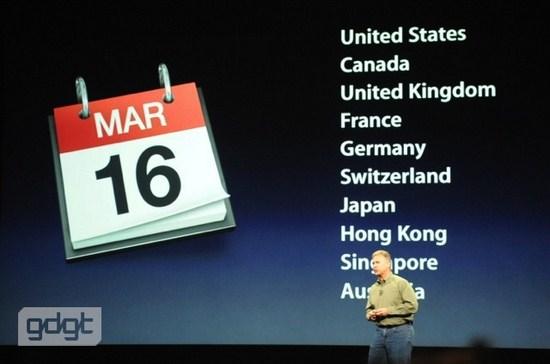 Disponibilidad Nuevo iPad Precios y disponibilidad del Nuevo iPad
