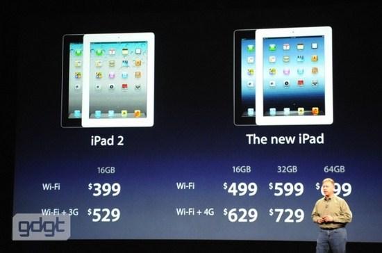 Precios Nuevo iPad Precios y disponibilidad del Nuevo iPad