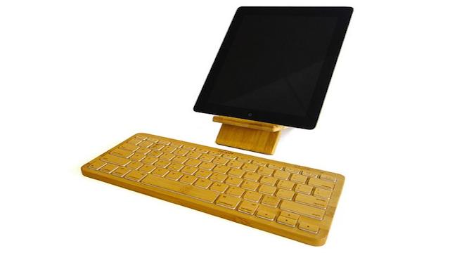 Photo of iZen Bamboo: Un Original Teclado para iPad Hecho de Madera