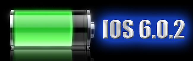 Batería iOS 6.0.2