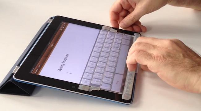 Photo of Touchfire: La Experiencia de un Teclado Físico en el iPad Mini