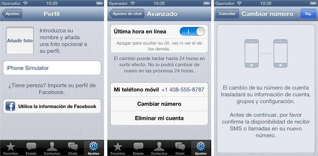 Nuevas funcionalidades WhatsApp iPhone