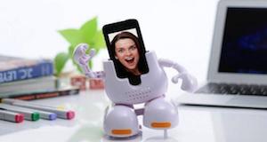Photo of Dancing Face Stand, dock para iPhone en forma de robot que baila