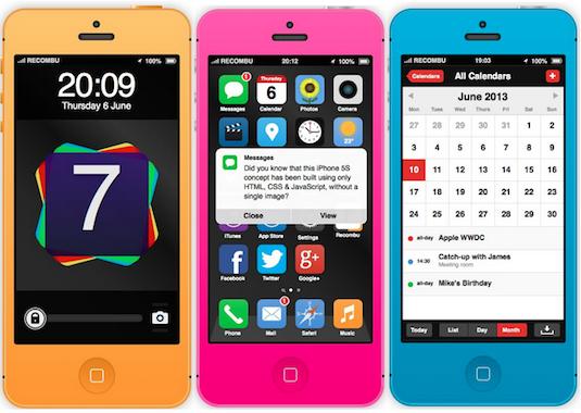 Concepto iOS 7