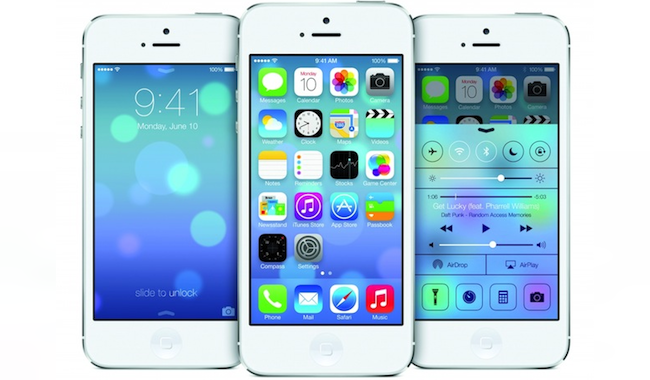 Nuevo iOS 7 Apple
