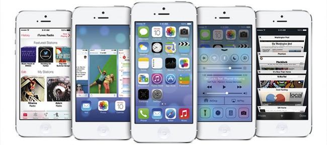 iOS 7 Apple iPhone
