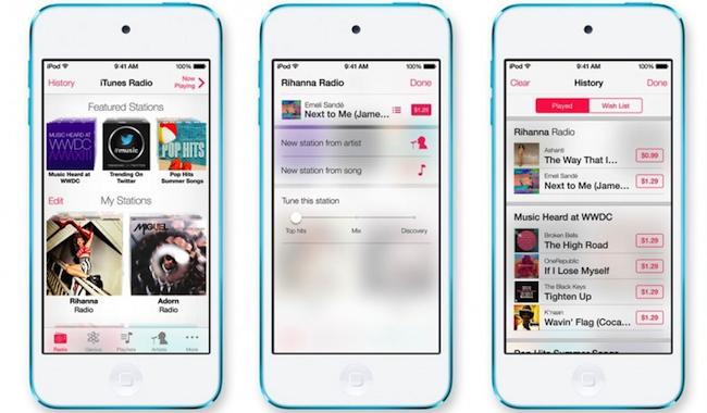 iTunes Radio iOS 6 Apple