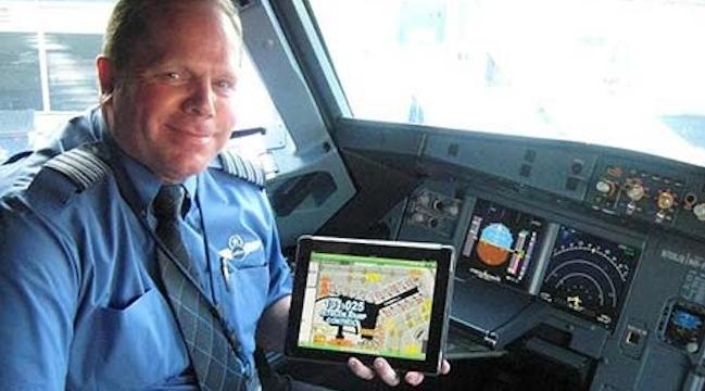 JetBlue iPad Pilots