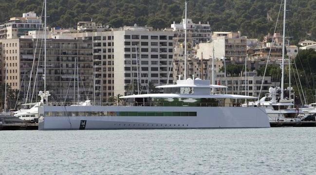 Photo of El Yate Venus de Steve Jobs Estará en Palma de Mallorca Hasta el 7 de Julio
