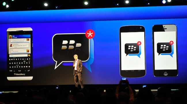 BBM iPhone Android