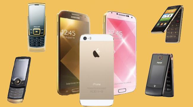 Samsung S4 Dorado