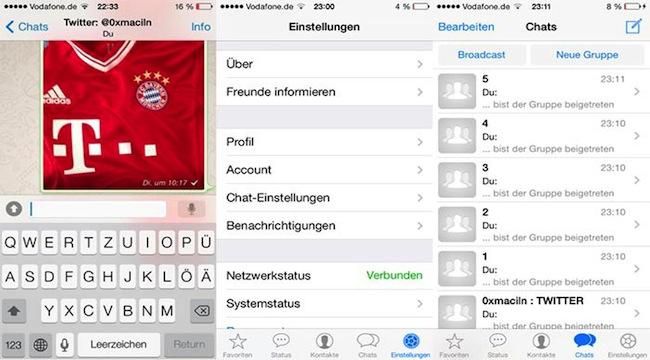 WhatsApp para iOS 7 (1)