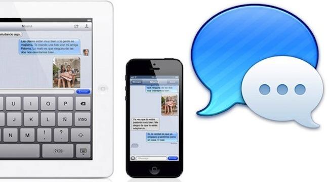 iMessage iOS 7