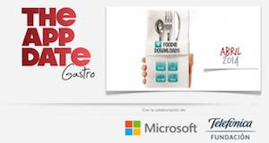 Photo of The App Date edición especial «Apps y Gastronomía»