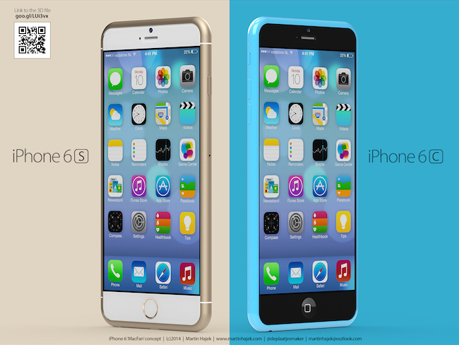iPhone 6s y 6c Apple