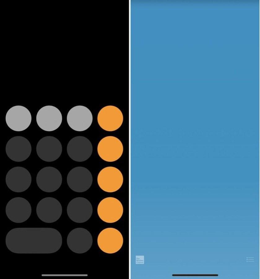 Captura de Pantalla del iPhone 8