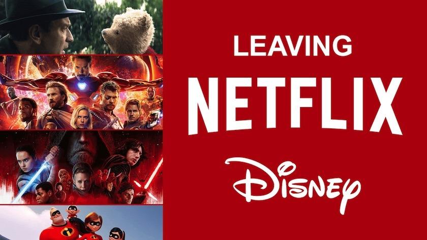 Disney Abandona la Plataforma de Neetflix