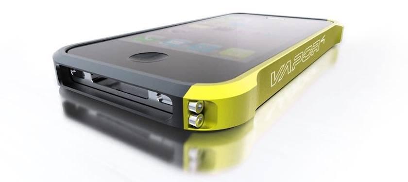 Funda para iPhone Vapor 4 Color Amarillo