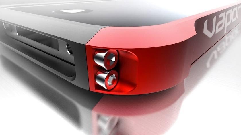 Funda para iPhone Vapor 4 Color Rojo