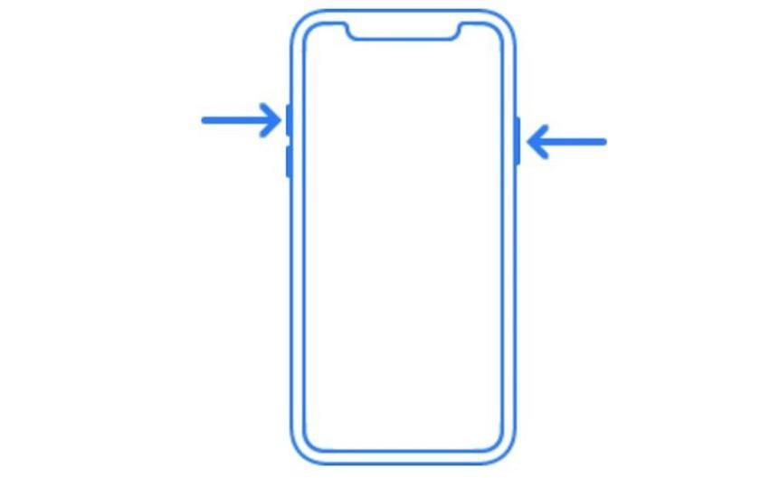 Referencias iPhone 8 en iOS 11 Golden Máster