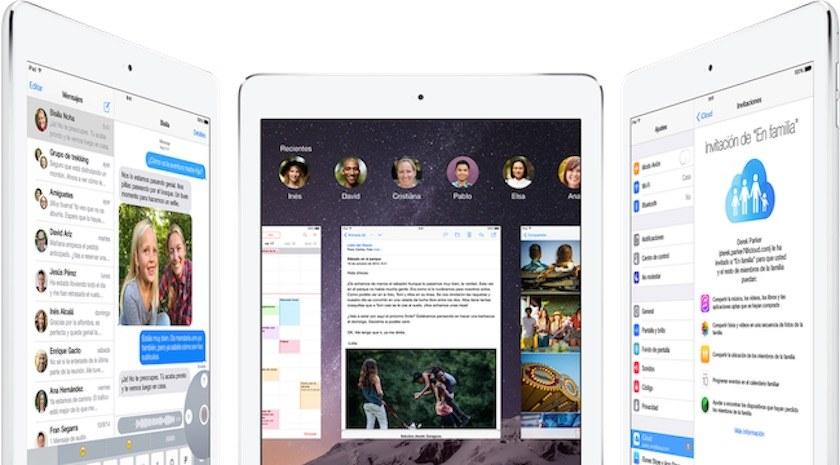 Lanzamiento iOS 8 de Apple octubre de 2014
