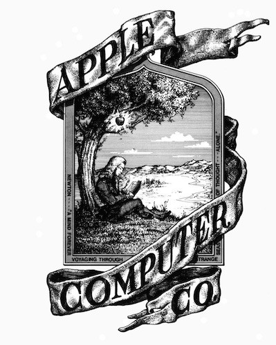 Primer Logo Original Apple Computer