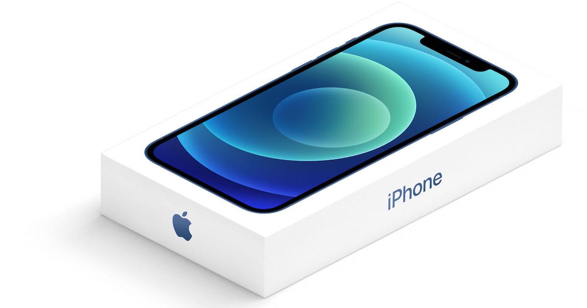 Caja iPhone 12